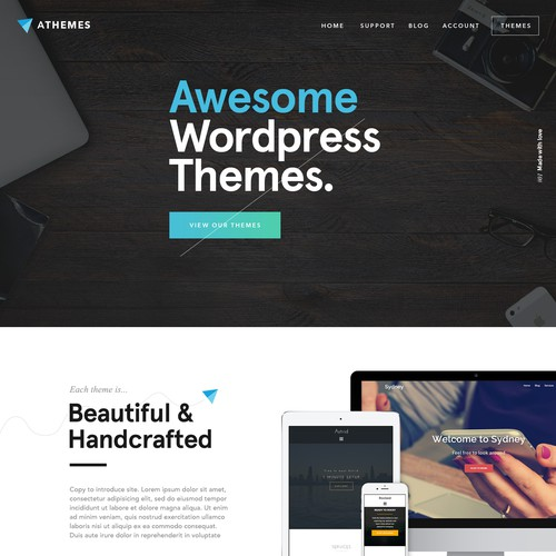 Themes Website