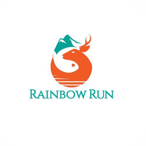 Rainbow Run Logo