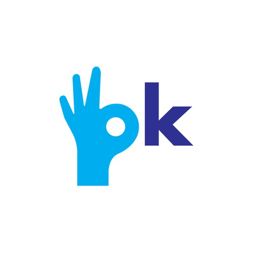 Logo for Okay Holding Company, an educational and training company.