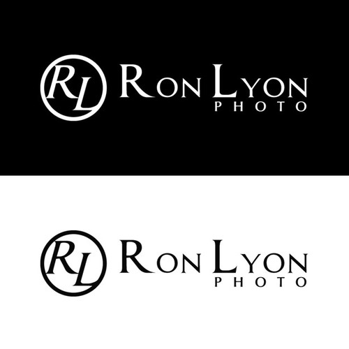 A Classic Fine Art Logo for Concert and Surf Photographer