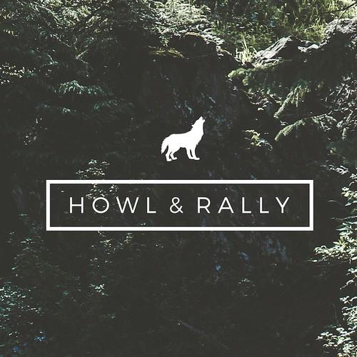 Logo design for Howl & Rally