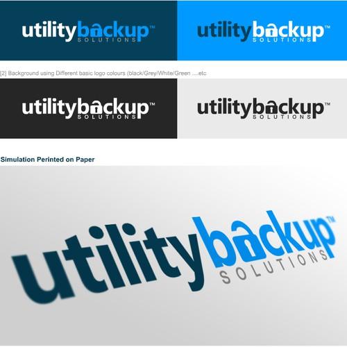 Utility Backup Logo