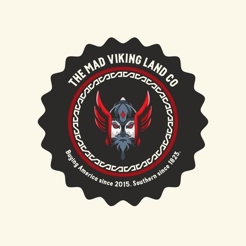 Bold Logo Concept Viking Mad