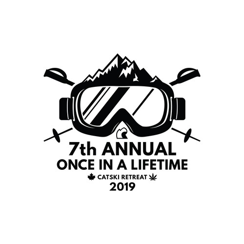 "Beer Mug Design for ""7th Annual Once In a Lifetime CatSki Retreat"""