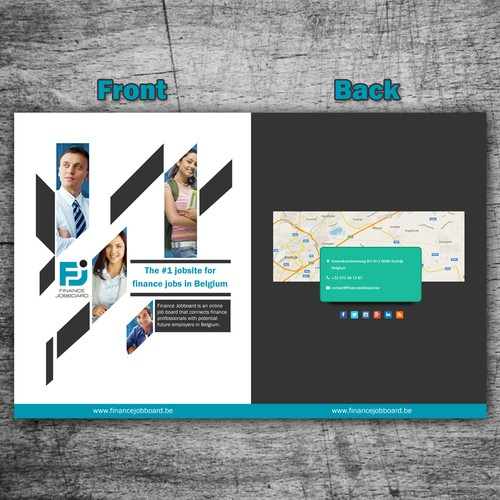 Brochure Design for Finance professionals