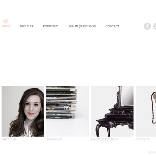 Fashion and beauty journalist needs a new website design