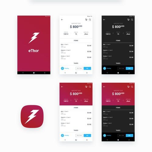 terminal payment concept
