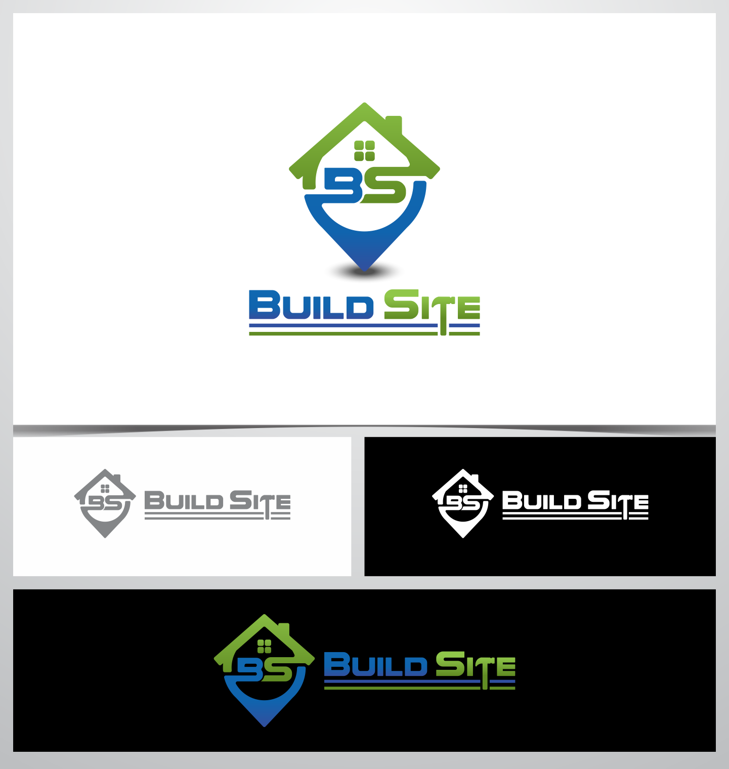 BuildSite Realty needs a logo design that pops out and is readily recognized.