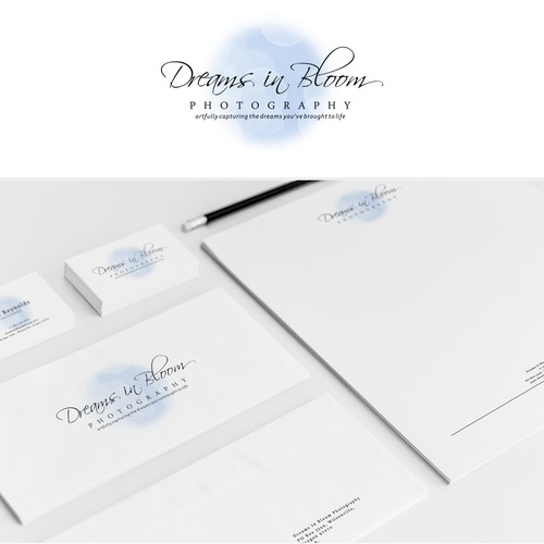 Design logo for Dreams In Bloom Photography