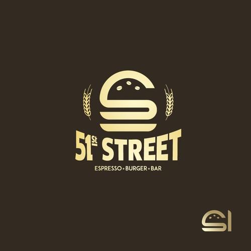 Food bar beer espresso burger