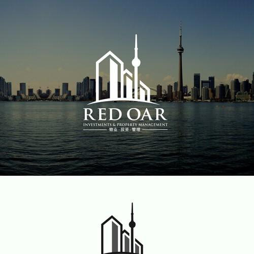 Red oar