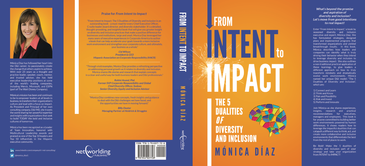 Dust Jacket Book Cover for Monica Diaz