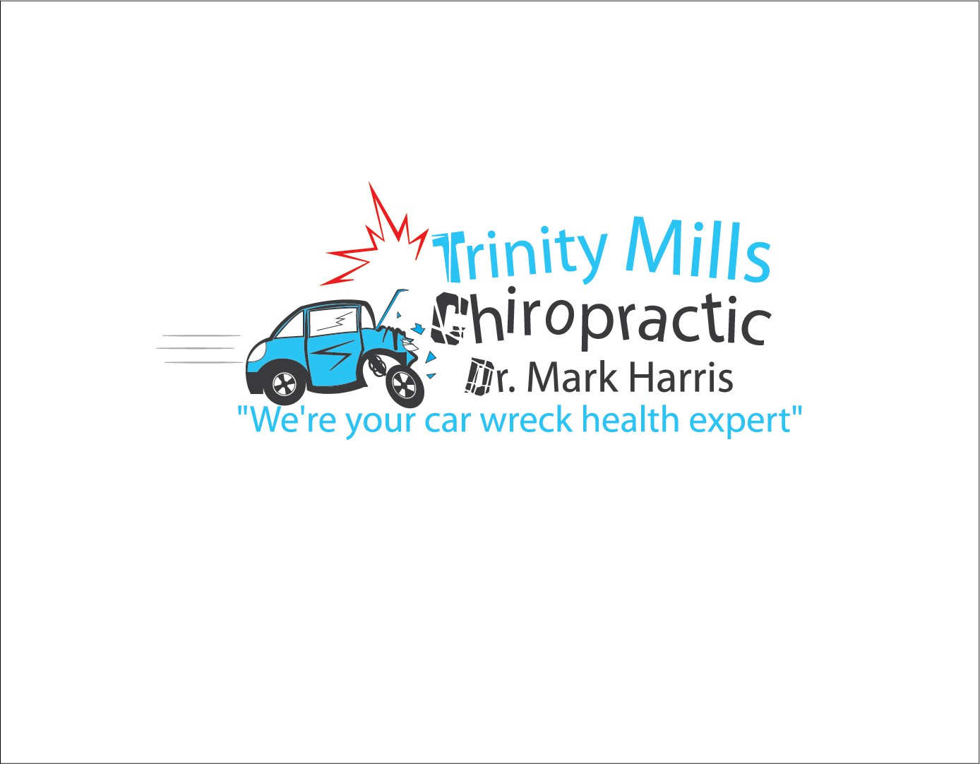 Help Trinity Mills Chiropractic / Dr. Mark Harris with a new logo