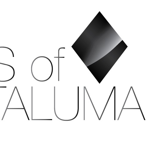 Distinctive logo to mirror 100 yr,old Paimted Ladies