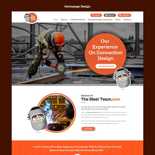 The Steel Team Limited market leading website