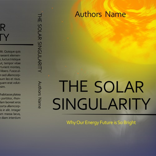 Book cover for The Solar Singularity: Why Our Energy Future is So Bright