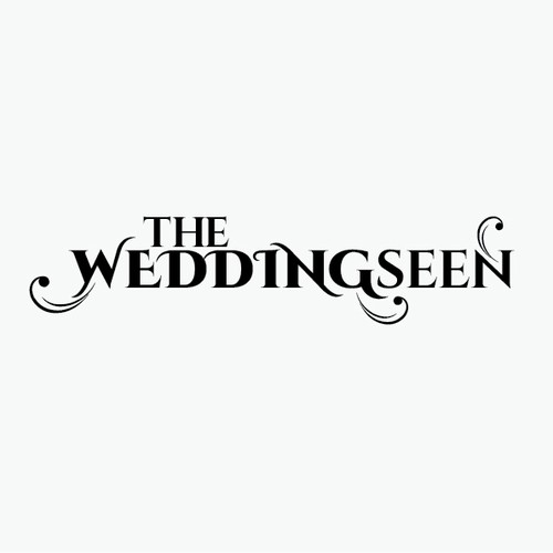 Create a beautiful logo for a wedding website that aims to educate brides and grooms about the indus