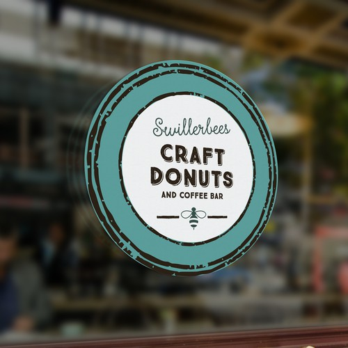 Logo for donut & coffee bar