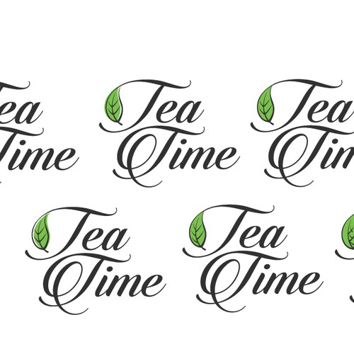 Design a logo for the trendy business Tea Time