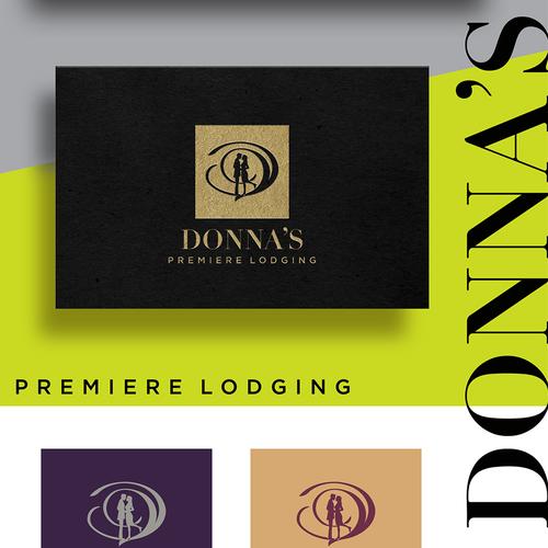 Winner design for Donna's Premier Lodging