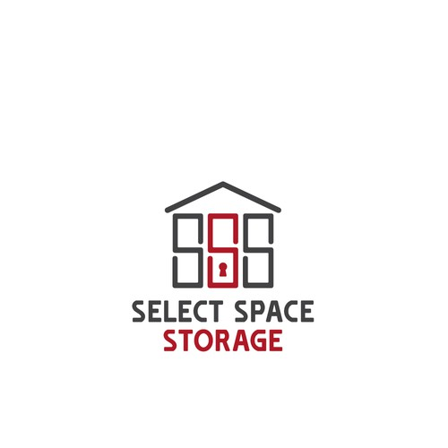 Self Storage Business Logo