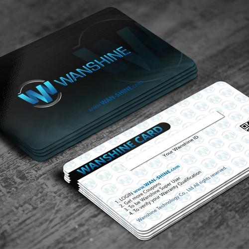 Wan-shine Membership card