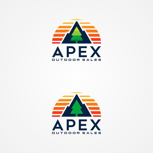 Outdoor logo concept for APEX
