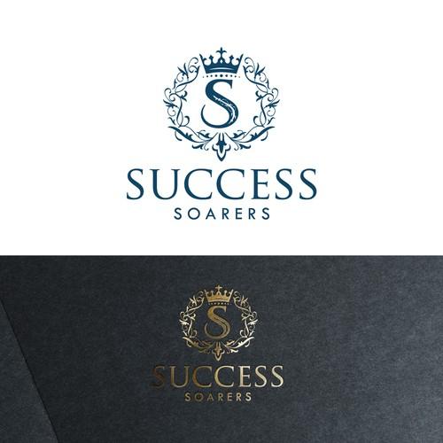 A elegant logo of Success Soarers