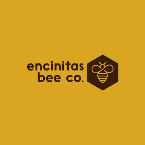 'Encitas Bee Company' logo