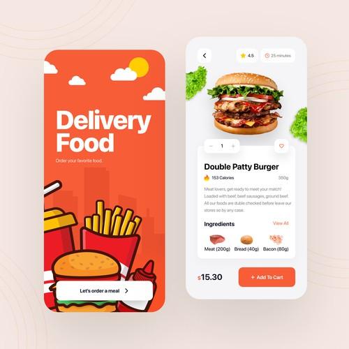 FoodDelivery App Design