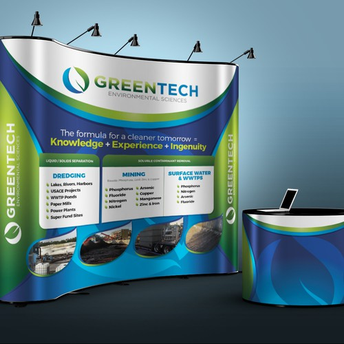 A tradeshow graphic for the future of clean water!