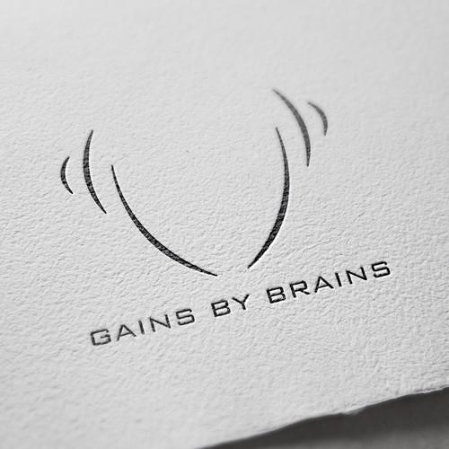 Logo & Social Media Pack Design For Gains By Brains
