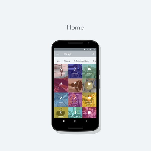 Freelaja App - Android