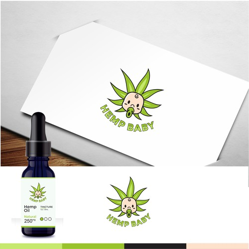 Hemp Baby logo for our upcoming CBD products