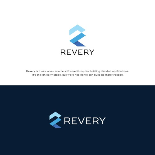 Logo for Revery - a software toolkit!