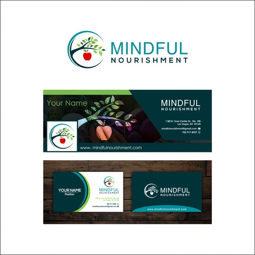 logo concept for mindfulnourishment