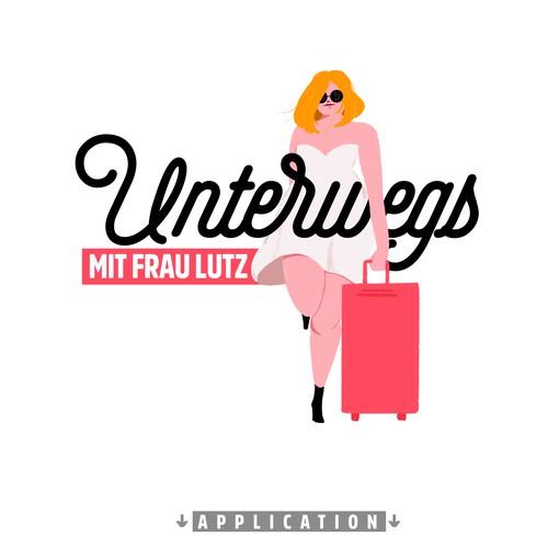 Logo for Unterwegs mit Frau Lutz