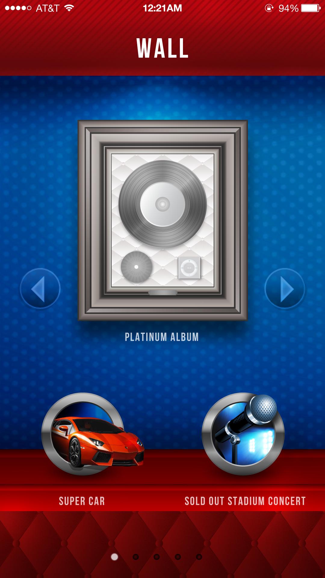 Hip-Hop Gaming App