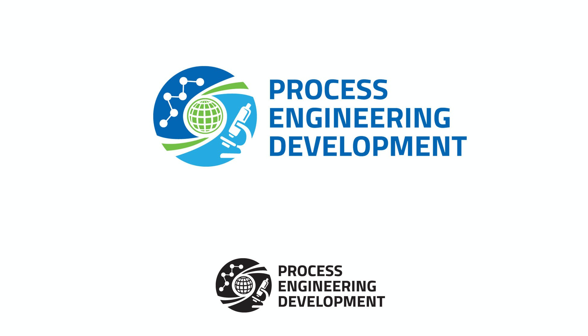 Create a simpler logo for an engineering organization