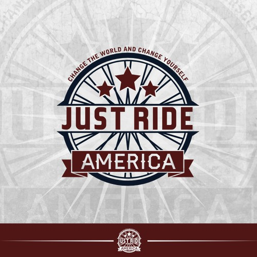 Just Ride America needs a new logo