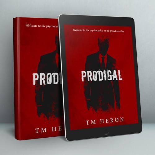 Book Cover Design for Thriller Novel