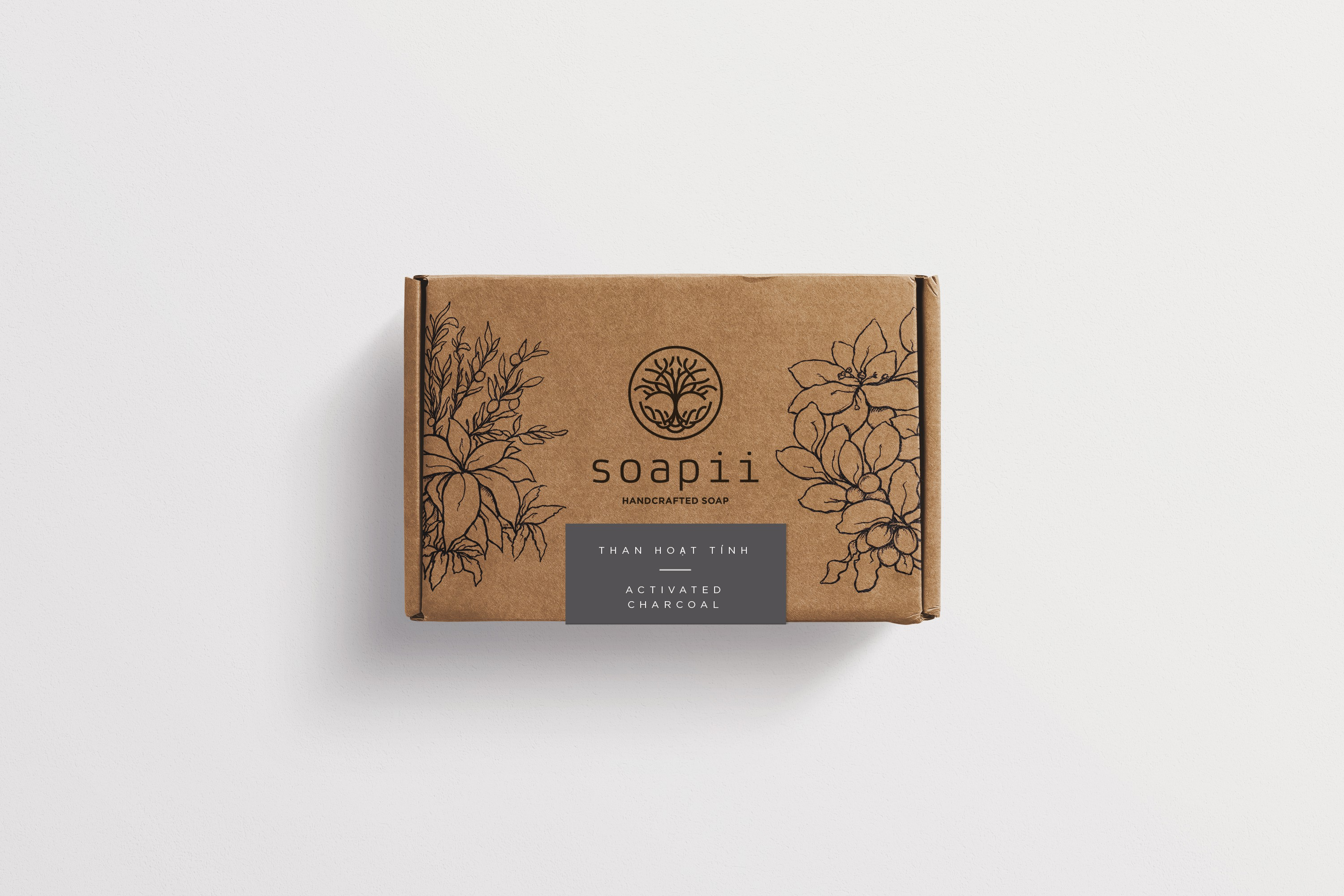 Soapii Handcrafted Soap needs Sophisticated, Elegant Packaging