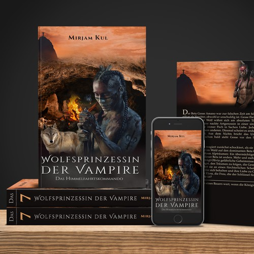 Creating book cover for FANTASY novel (BOOK 7)