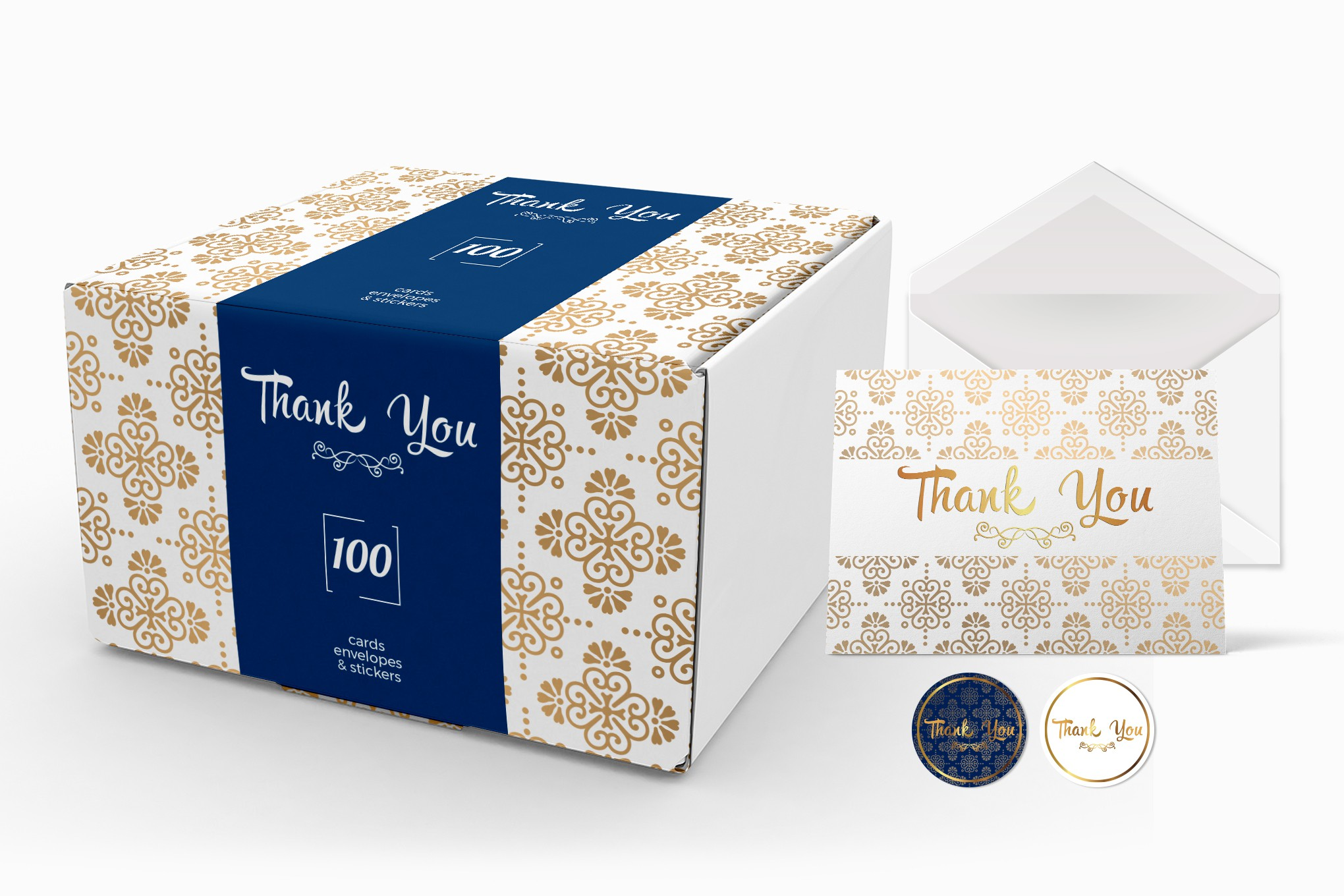 Thank You Cards in a beautiful luxury box