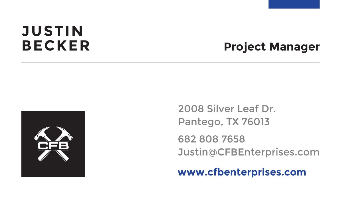 Business Card Design - CFB
