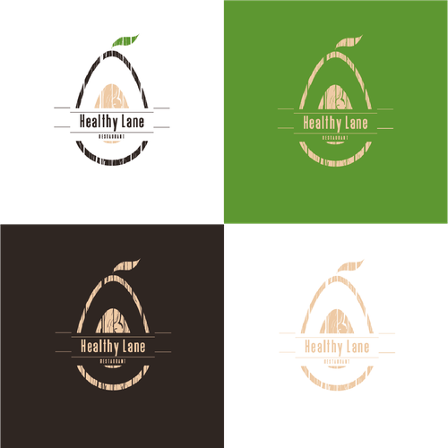 Create a captivating logo for a fresh healthy food and rustic restaurant