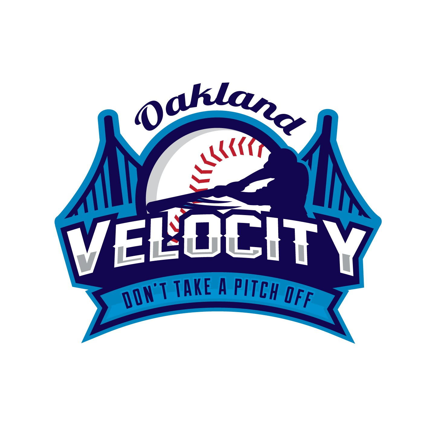 Let's Play Ball!!! Design a logo for a high energy youth baseball team that competes to the last pitch!