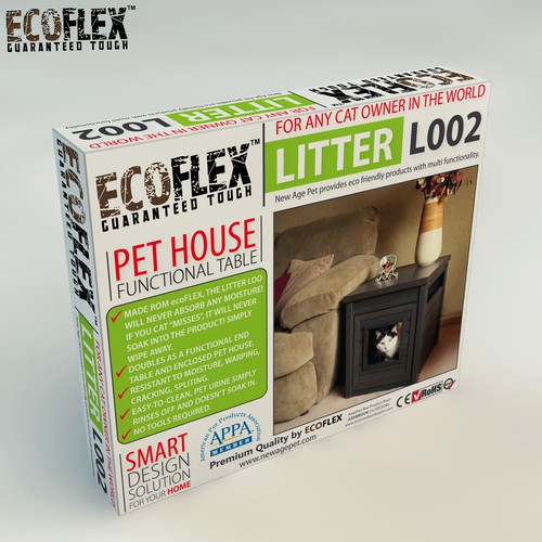 Pet Industry Retail Packaging.