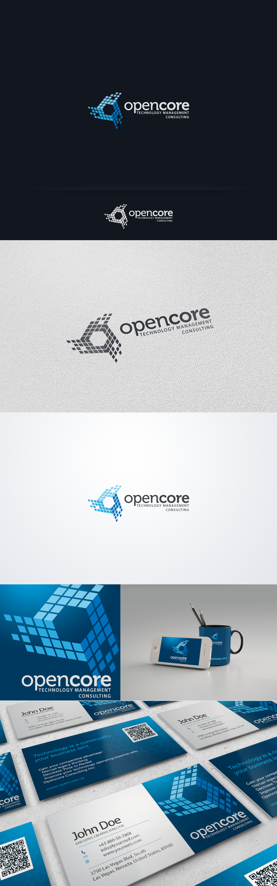 New logo and business card wanted for Opencore
