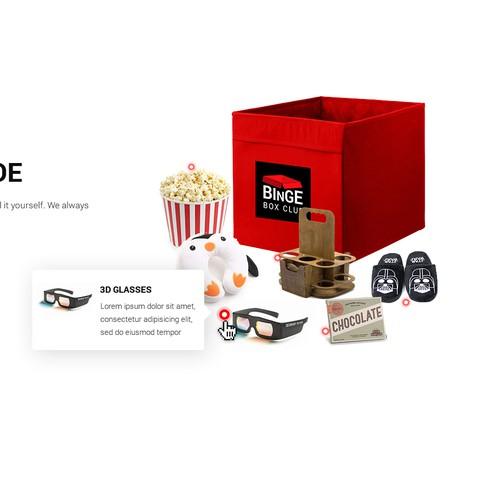Binge Box: What inside